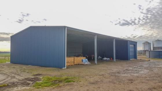 Rural Machinery Shed